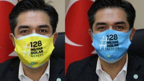 iyi parti den 128 milyar dolar nerede maskesi