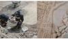 restorasyon sırasında tarihi mozaikler keşfedildi