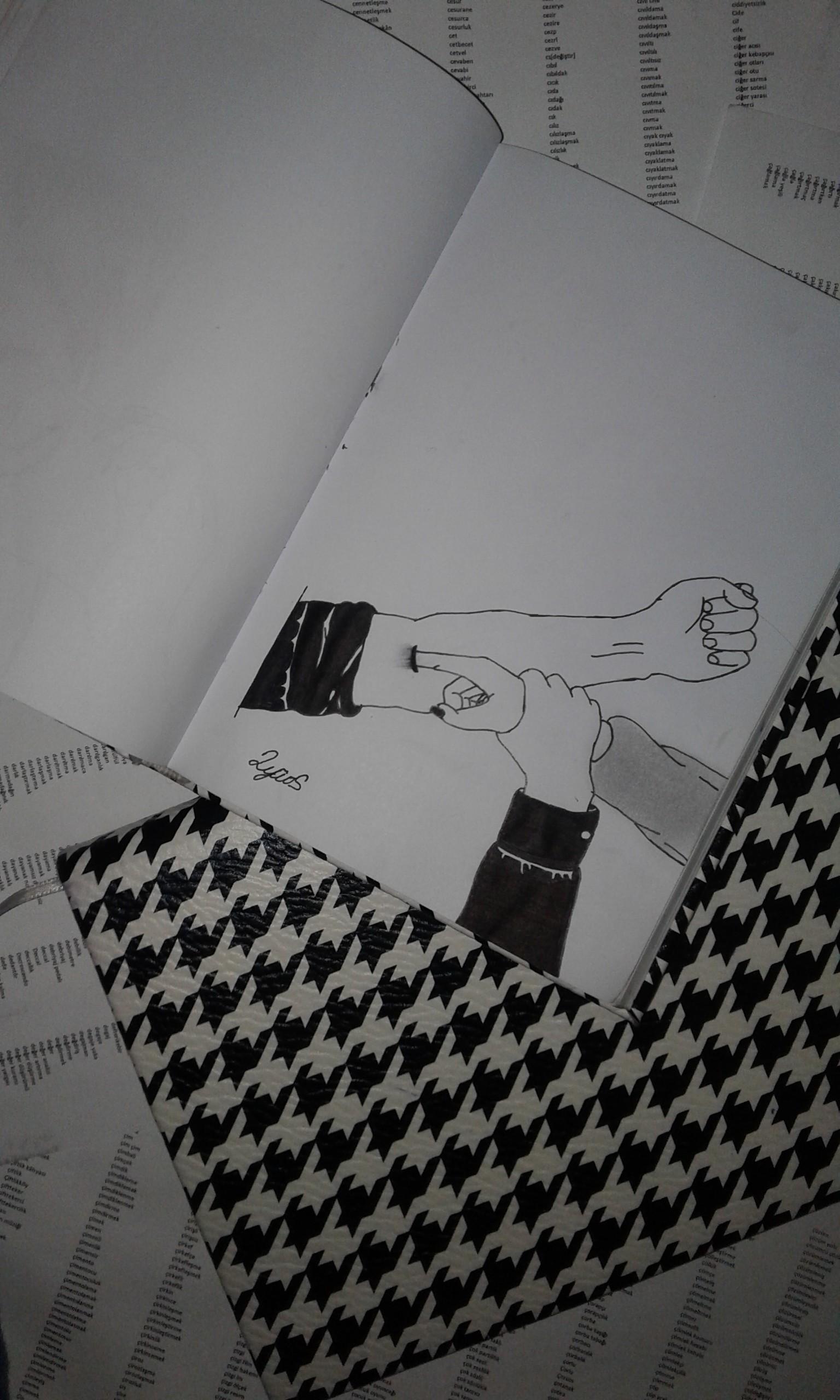sözlük yazarlarının çizimleri