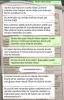 arkadaşın annesi ile yapılan whatsapp konuşması