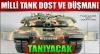 teröristler ya tankımızın egzozuna atlet tıkarsa