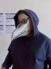 tüplü monitörden maske yapan genç