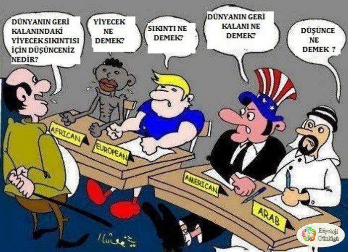 dünyanın geri kalanındaki yiyecek sıkıntısı