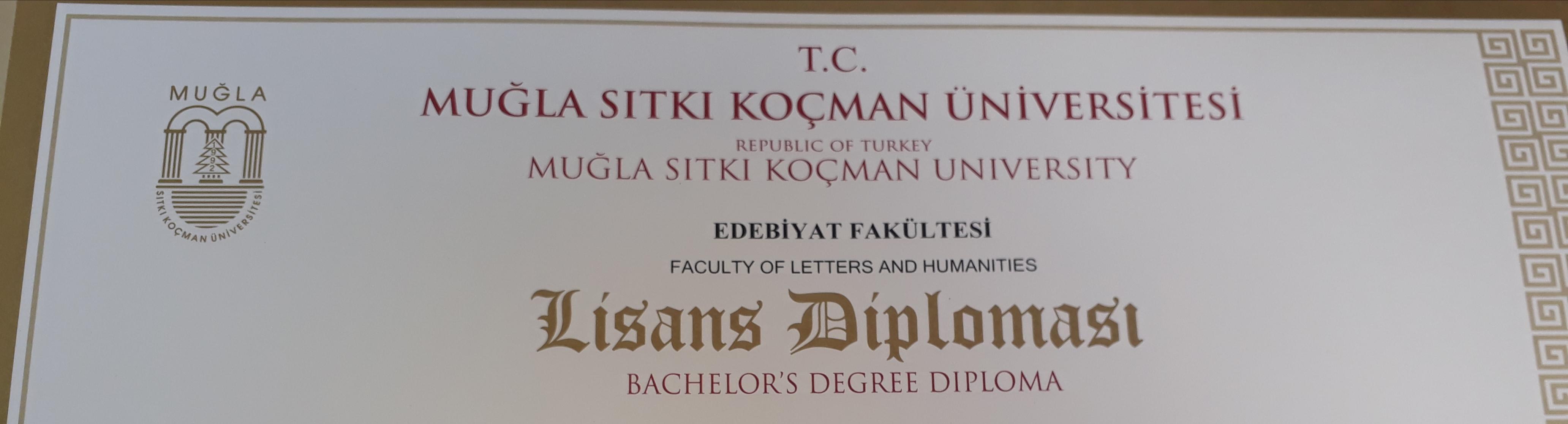 üniversite diploması