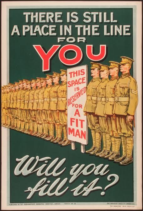 propaganda afişi