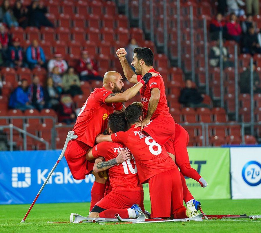 19 eylül 2021 türkiye ispanya ampute futbol maçı