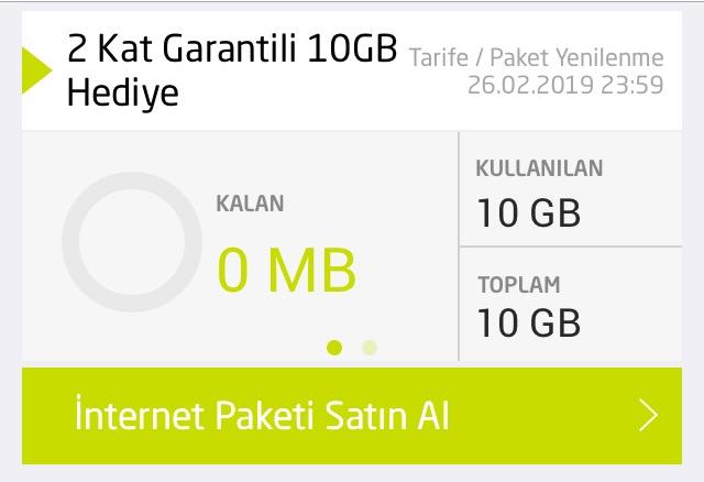 internet paketi