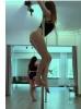 direk dansı yapan chpli kadın