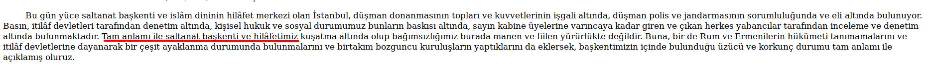türklüğün en büyük düşmanı siyasal islamdır