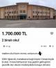 1 milyon 700 bin liraya satılık okul ilanı