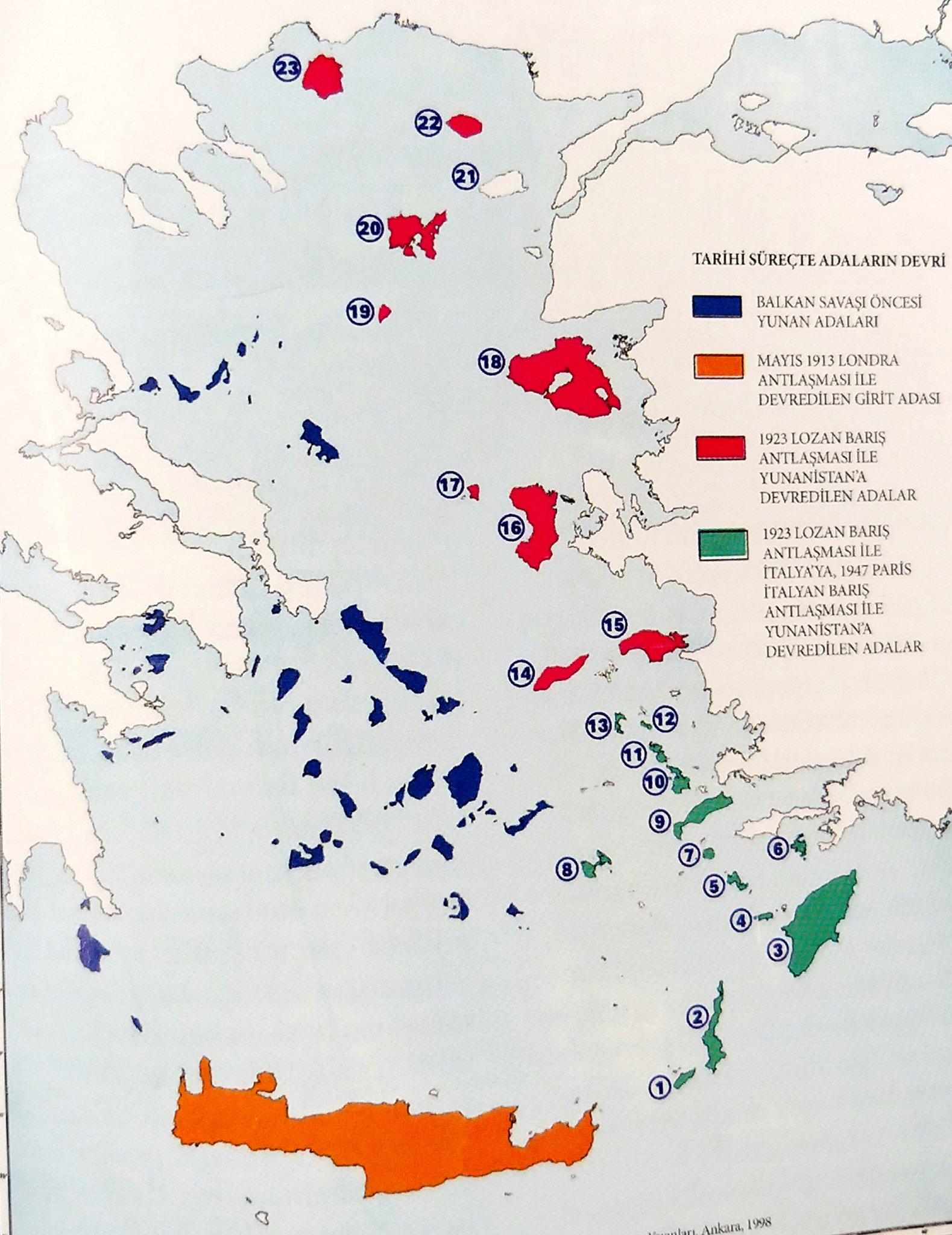 ege adaları meselesinin tarihi