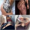 bacak dövmesi