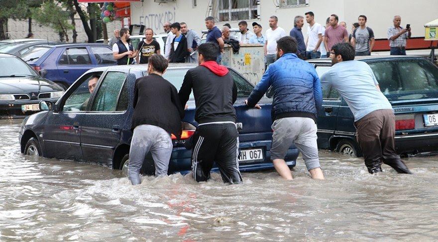 sağanak yağış hayatı olumlu etkiledi