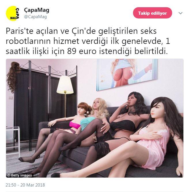 seks robotlarının hizmet verdiği genelev