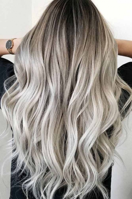 platin ombre