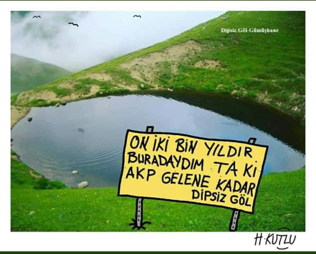 dipsiz gölün sit alanı ilan edilmesi komedisi