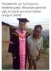 inşaat işçisi babanın mezuniyet törenine gelmesi
