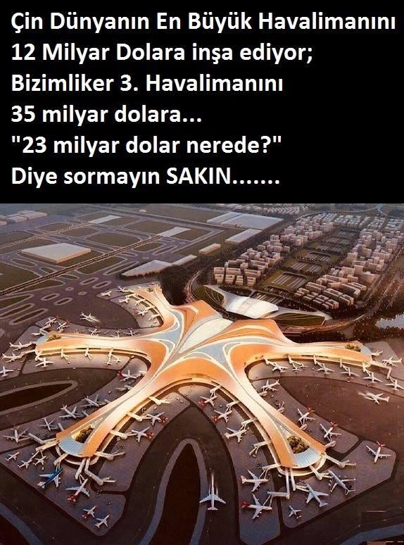 istanbul un üçüncü havalimanı