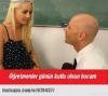 öğretmenine aşık olan kız öğrenci