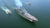 tepeden tırnağa silahlı rus savaş gemisi