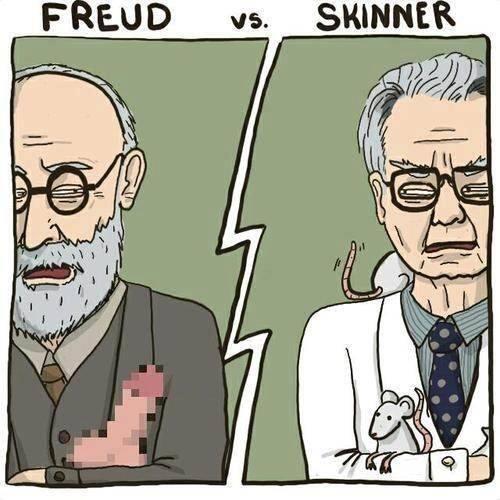 freedom versus determinism freud versus sartre