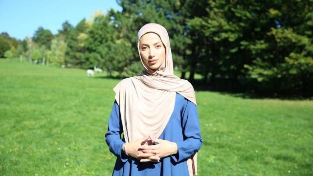 avusturya da müslüman kadına ırkçı saldırı