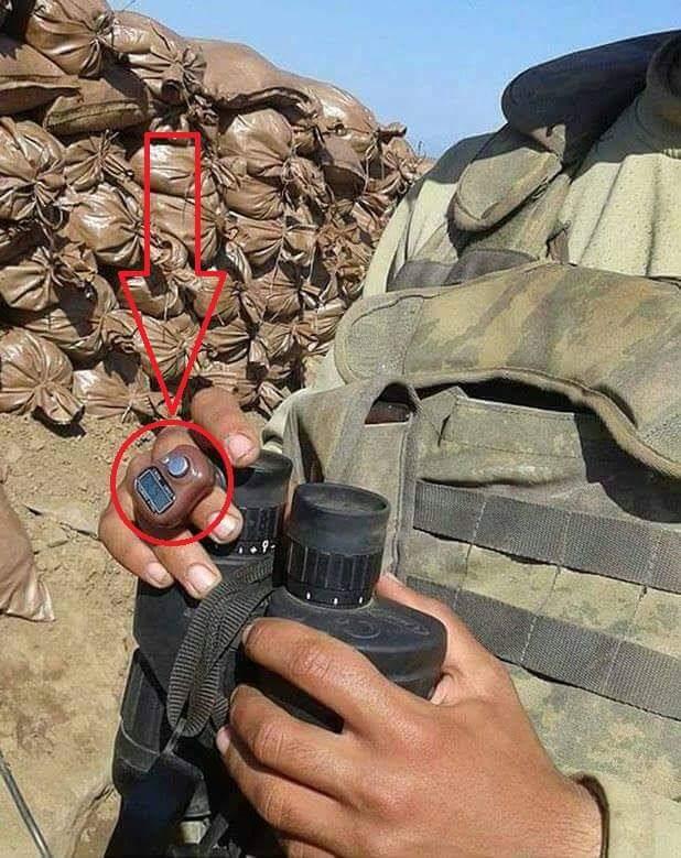 türk askerinin parmağındaki teknoloji