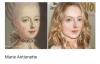 tarihi figürlerin modern zaman portreleri
