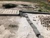 göbeklitepe de beton dökülüp kepçe çalıştırılması
