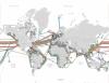 okyanus altındaki fiber optik kablolar
