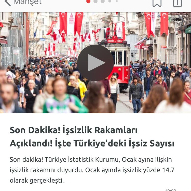 türkiyenin işsizlik oranı