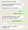 yazarların whatsapp tan aldığı son mesaj