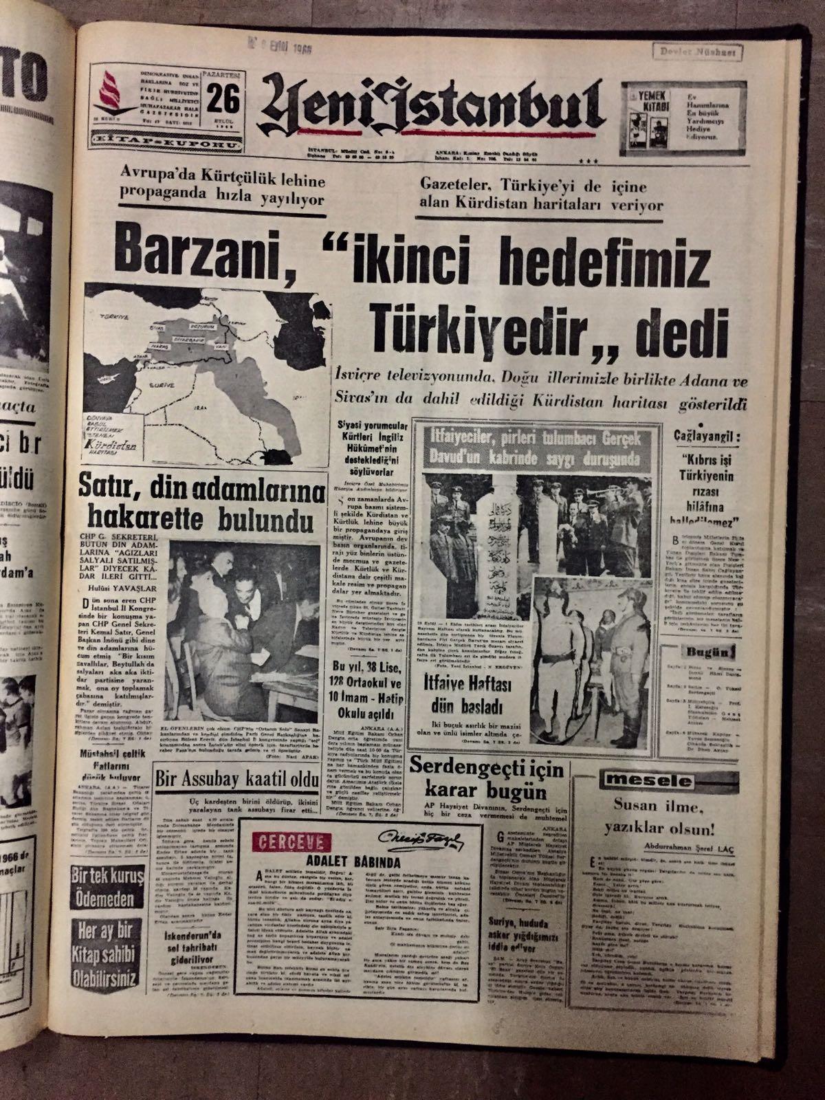 barzaninin ikinci hedefimiz türkiyedir sözü