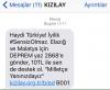 kızılay ın deprem için sms yardımı istemesi