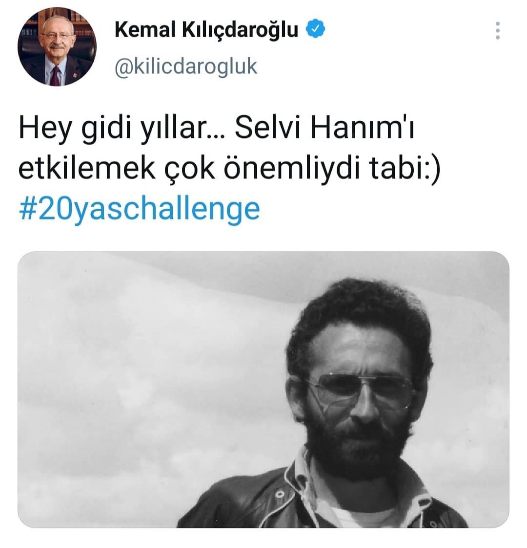 kemal kılıçdaroğlu nun hey gidi yıllar tweeti