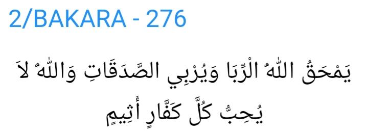 para biriktirmenin islamda günah olması